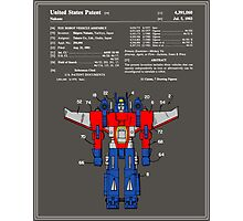 Transformers Patent - Colour Photographic Print