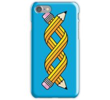 Creative Gene-ius (Yellow School Pencil) iPhone Case/Skin