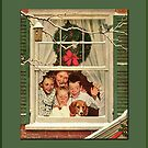 Season's Greetings- Rockwell by Yesteryears