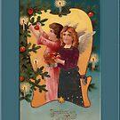 Joyeux Noel Greeting Card by Yesteryears