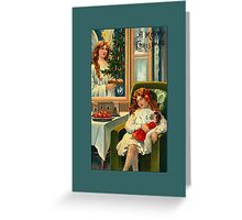 A Merry Christmas Greeting Card Greeting Card