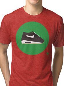 AM1 Patta Black Tri-blend T-Shirt