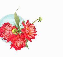 Dahlias in a vase... (6) by Bob Daalder