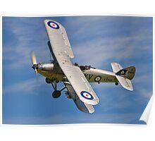Hawker Hind K5414/XV G-BTVE Poster