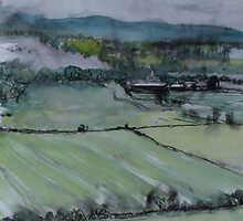 Perthshire, looking towards Dunsinane by Fiona Mill