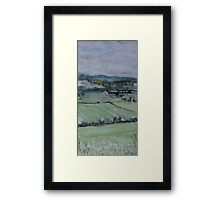 Perthshire, looking towards Dunsinane Framed Print