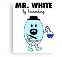 Mr White Canvas Print