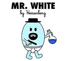 Mr White Photographic Print