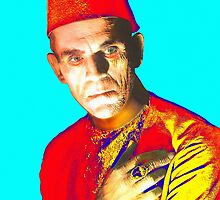 Boris Karloff in The Mummy by Art Cinema Gallery