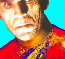 Boris Karloff in The Mummy Sticker
