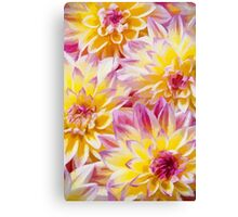 Another Bright Day - Floral Art Print Canvas Print