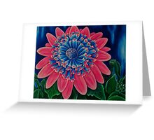 African Daisy 3D Greeting Card