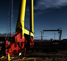 Harland & Wolff Close-up by Wrayzo