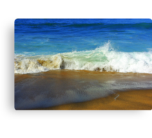 White Wash Canvas Print