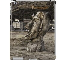 Barmouth beach art iPad Case/Skin