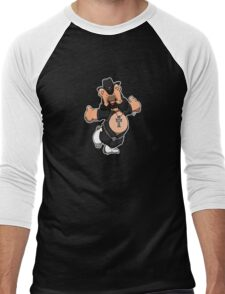 Lemmy Bear Men's Baseball ¾ T-Shirt