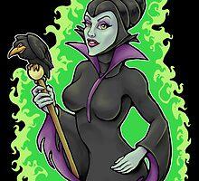Maleficent by Kylana