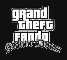 Grand Theft Frodo Mount Doom by odysseyroc
