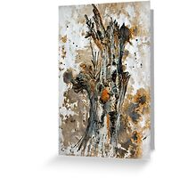 Bleached tree Greeting Card