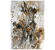 Bleached tree Poster