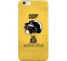 Full Metal Helmet iPhone Case/Skin