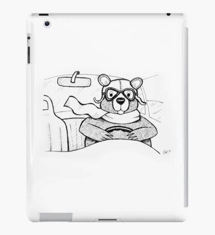 Driving Bear iPad Case/Skin