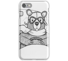 Driving Bear iPhone Case/Skin
