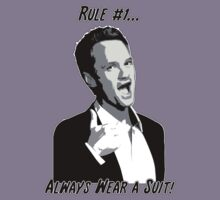 RULE NO. 1: ALWAYS WEAR A SUIT! by TEE-VERBS