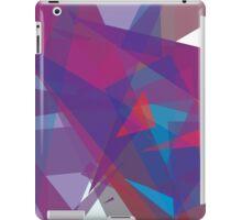 Purple angles abstract ipad case design iPad Case/Skin