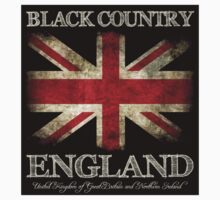 Black Country England UK Flag by FlagTown