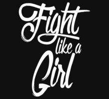 fight like a girl One Piece - Long Sleeve