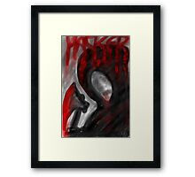 """""""HACKER"""" Horror Poster Framed Print"""