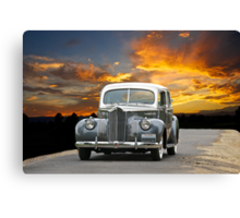 1941 Packard 120 Sedan Canvas Print