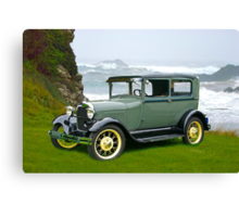 1927 Ford Tudor Sedan Canvas Print