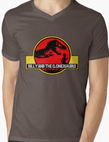 Billy and the Cloneasaurus Mens V-Neck T-Shirt