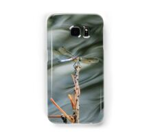 Dragonfly On Abstract Pond Samsung Galaxy Case/Skin