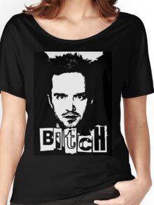 "Jesse Pinkman - Breaking Bad - ""Bitch"" tee. Women's Relaxed Fit T-Shirt"