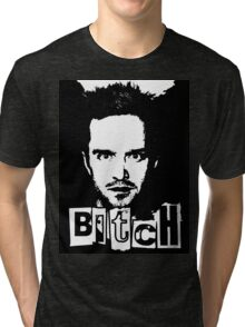 "Jesse Pinkman - Breaking Bad - ""Bitch"" tee. Tri-blend T-Shirt"