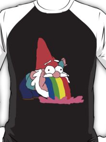 Gnome puking happiness - Gravity Falls T-Shirt