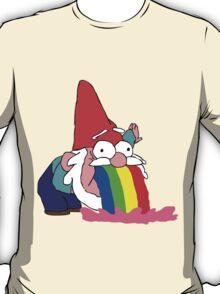 Gnome puking happiness - Gravity Falls T-Shirt