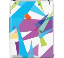 falling about, abstract case design iPad Case/Skin