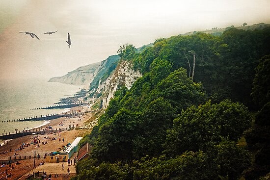 Misty Afternoon In Eastbourne by Chris Lord