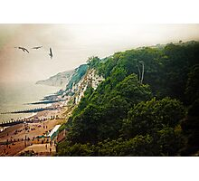 Misty Afternoon In Eastbourne Photographic Print