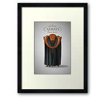 Always Kosh Framed Print