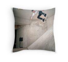 Nate Broussard - Kickflip  Houston, Texas Throw Pillow