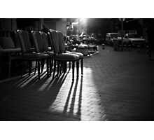 arranged shadows Photographic Print