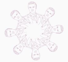 Jimmy Darmody Boardwalk Empire Kaleidoscope  by TheLoungeLizard