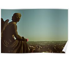 Angels & Sculptures - Glasgow's Whitelaw Angel Poster