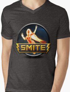 Smite Sol Logo Mens V-Neck T-Shirt