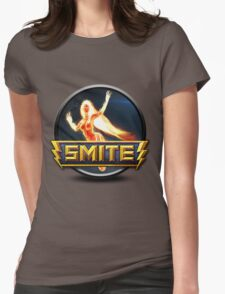 Smite Sol Logo Womens Fitted T-Shirt
